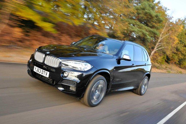 2013 BMW X5 M50d review