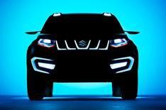 New Suzuki SUV teased ahead of Frankfurt