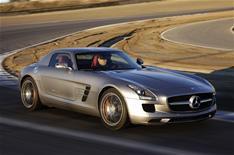 Mercedes-Benz SLS AMG video blog