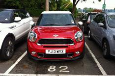 Our cars: Mini Paceman Cooper S hello