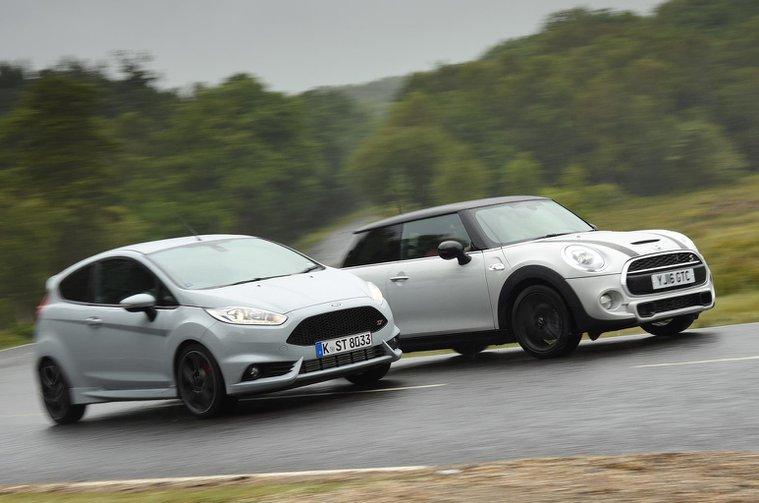 New Ford Fiesta ST200 vs Mini Cooper S