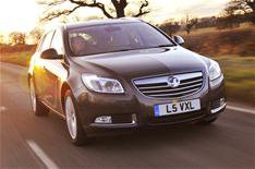 Vauxhall Insignia cleans up
