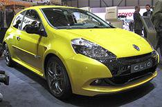 Renault Clio and Megane variants