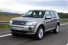 Land Rover Freelander 2WD driven