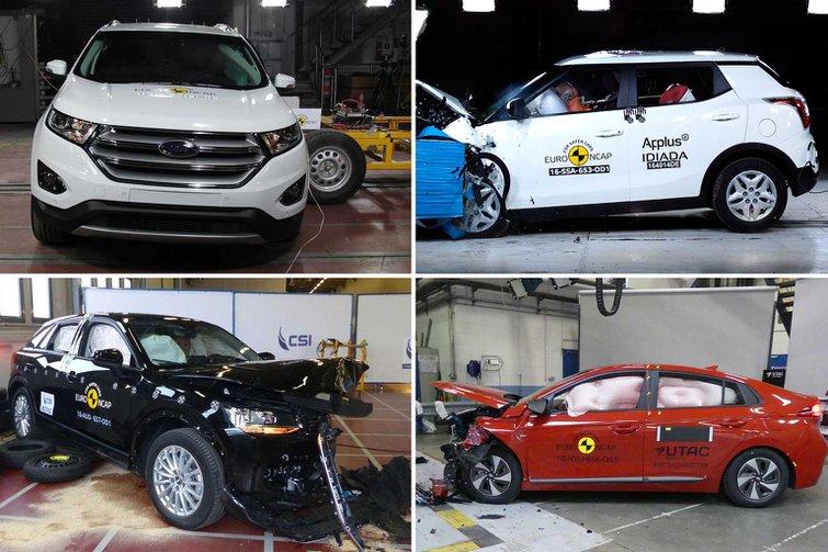 Latest Euro NCAP safety test scores revealed