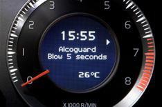 Volvo XC60 gets breathalyser key