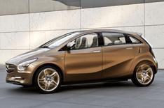 Mercedes reveals new hybrid concept car