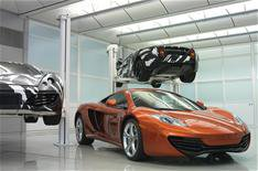 Three UK dealers to sell first McLarens