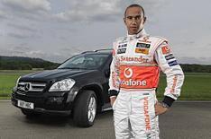 What's Lewis Hamilton's road car?