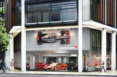 McLaren reveals flagship UK dealership