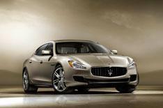 Maserati reveals new Quattroporte