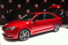 Geneva motor show 2012: Seat Toledo