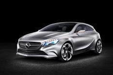Mercedes unveils Concept A-Class