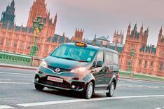 Nissan NV200 London black cab revealed