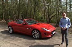 2013 Jaguar F-type video review