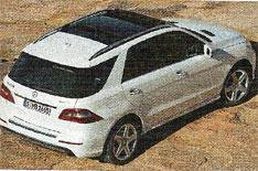 Mercedes M-Class photos leaked