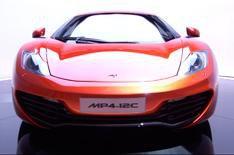 New McLaren MP4-12C video