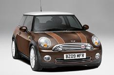 Mini auctioned for charity