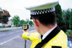 Speed camera device exploits law