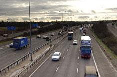 Ban for woman doing 10mph on motorway