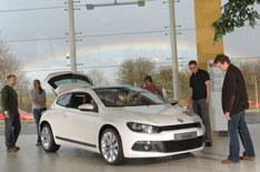 VW Scirocco and our Reader Test Team