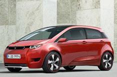 Electric BMW takes shape