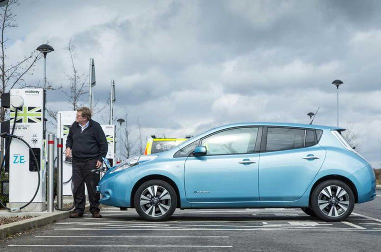 EV drivers to be charged for using Ecotricity charging points