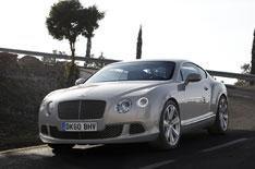 Bentley Continental GT driven