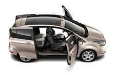 Ford B-Max doors revealed