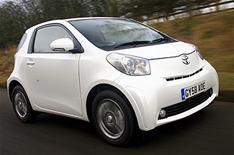 Can I take my test in a Toyota iQ?