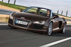 Audi R8 Spyder gets V8 power