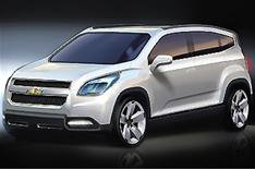 Chevrolet Orlando goes to the show