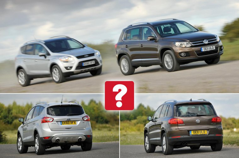Used Ford Kuga vs Volkswagen Tiguan