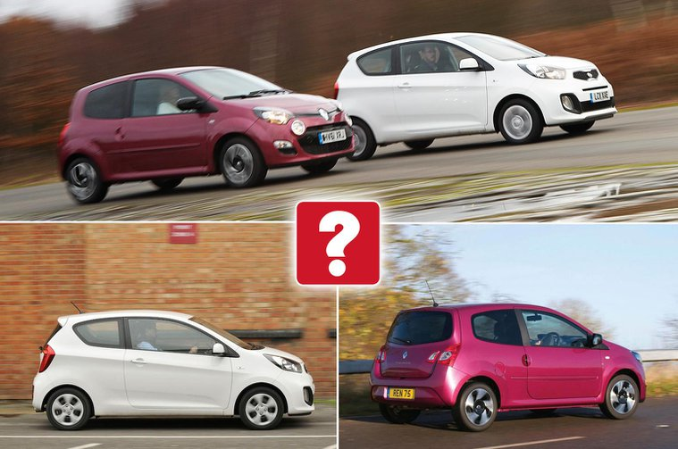 Used test: Kia Picanto vs Renault Twingo