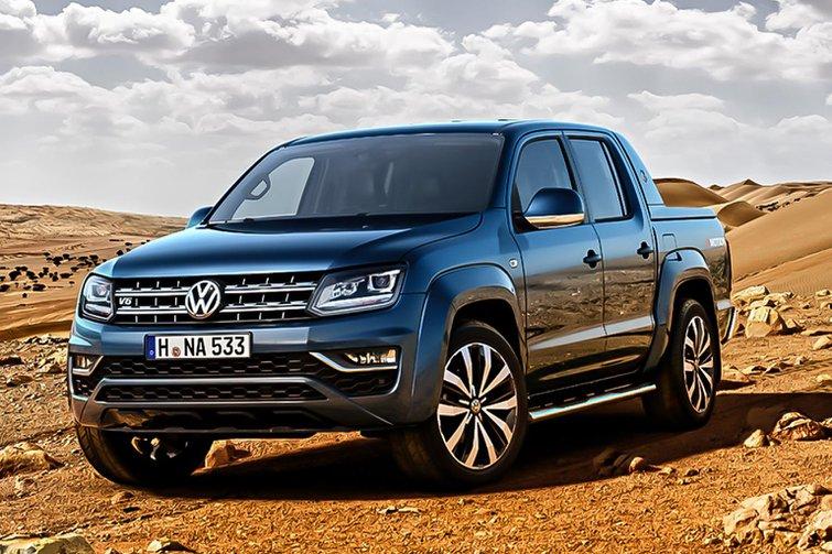 Facelifted Volkswagen Amarok pick-up truck revealed