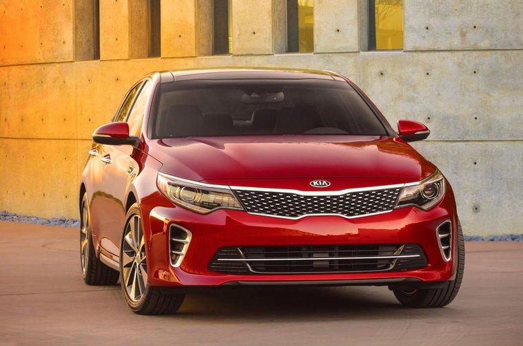 New Kia Optima shown ahead of year-end launch