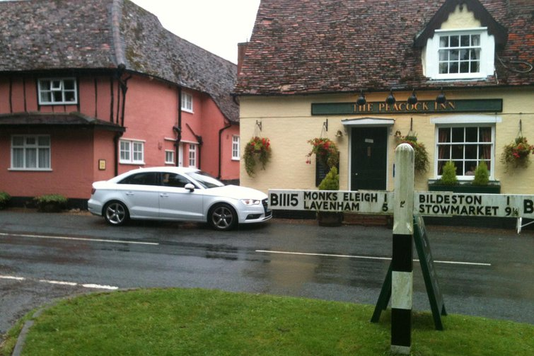 Our cars: BMW i3, Audi A3 Saloon and Mini Cooper