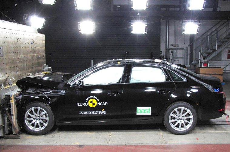 Audi A4, Honda HR-V and Honda Jazz score top marks on Euro NCAP tests