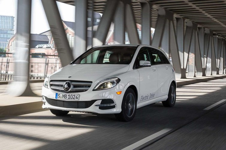 2015 Mercedes B-Class Electric Drive review