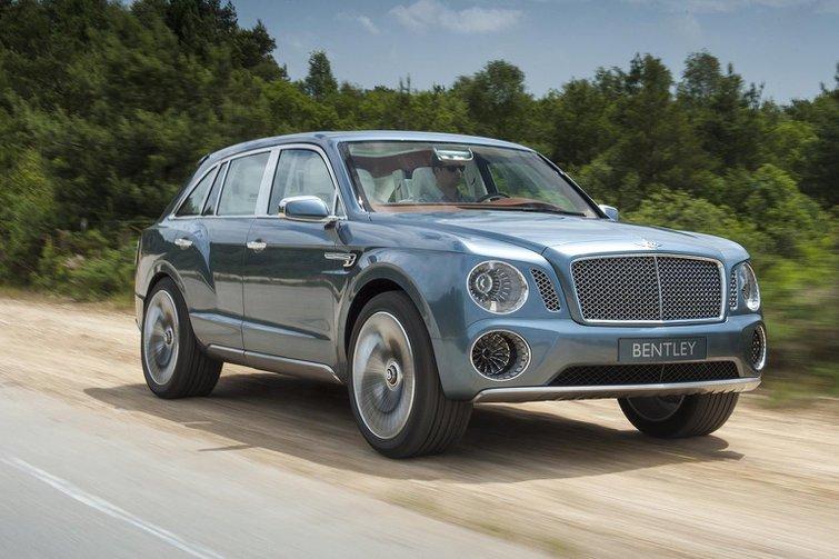 V8 diesel mooted for Bentley SUV
