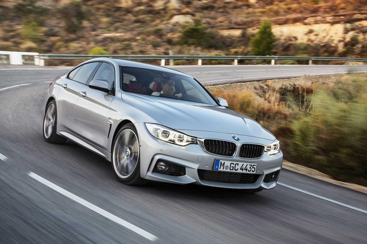 BMW 4 Series Gran Coupe revealed