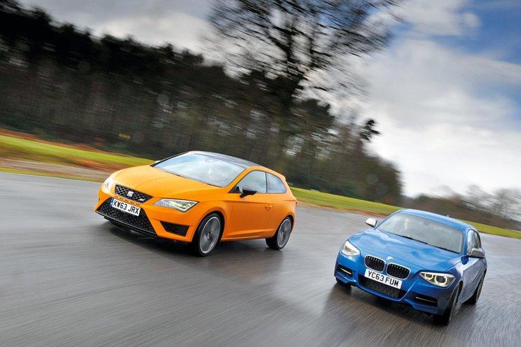 BMW M135i vs Seat Cupra