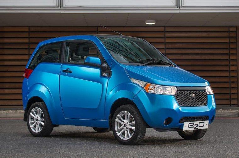 New Mahindra e2o electric car revealed