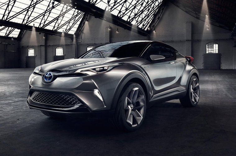 Production Toyota C-HR due at Geneva show