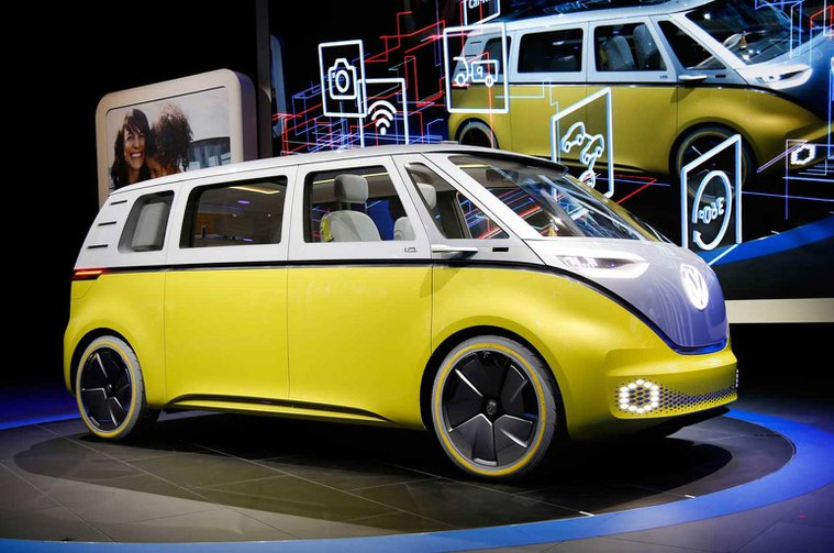 Volkswagen ID Buzz concept looks back to the future