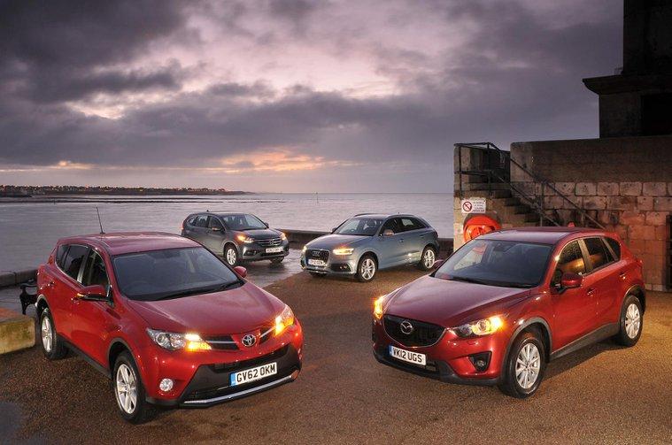 Used test: Audi Q3 vs Honda CR-V vs Mazda CX-5 vs Toyota RAV4
