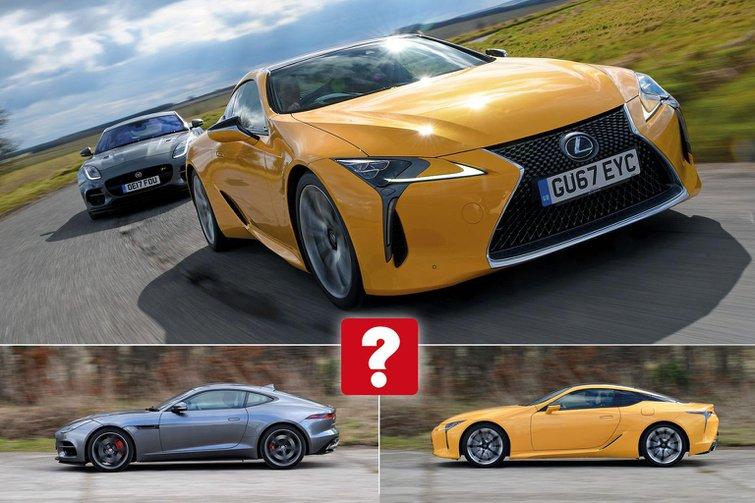 New Lexus LC vs Jaguar F-Type