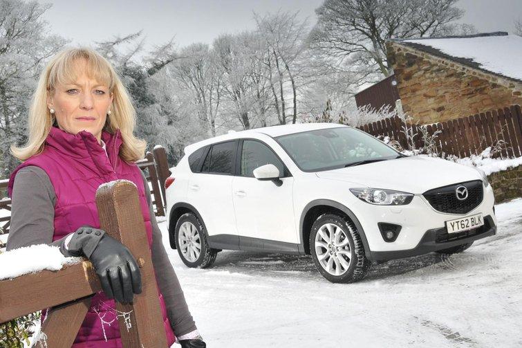 Mazda CX-5 cracked windscreen problem
