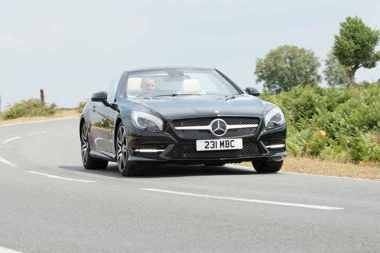 2014 Mercedes SL400 review