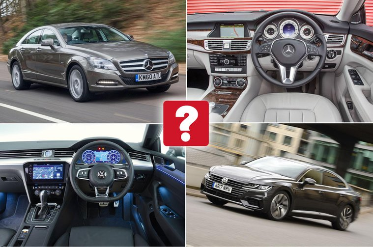 New Volkswagen Arteon vs used Mercedes-Benz CLS: which is best?